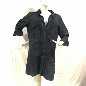 Coldwater Creek Black Blouse Size 1X